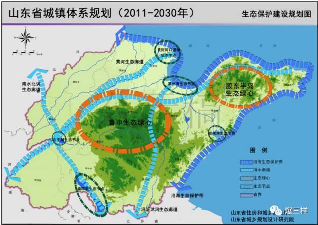 生态保护建设规划图   《规划》健全了统筹协调的规划支撑体系.