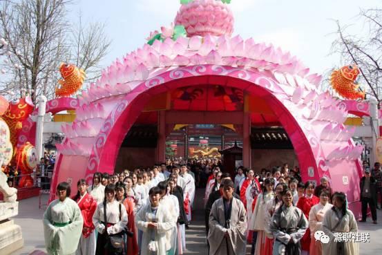 ◆ 滁州职业技术学院:上巳节行古礼,相约秦淮河河畔夫子庙