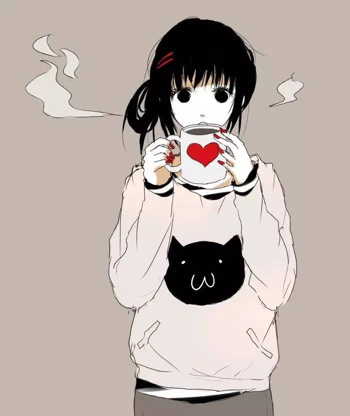 Плачущие аниме девушки черно белые