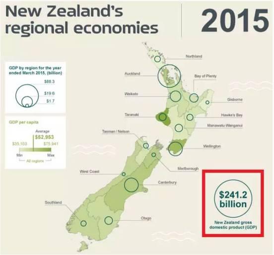 新西兰gdp_新西兰地图