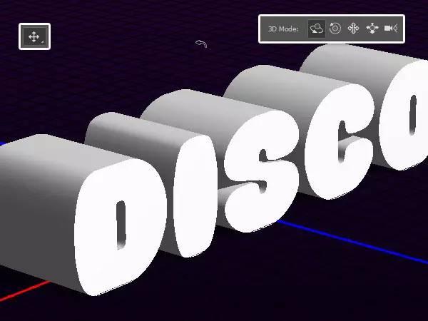 炫酷到不行 PS制作超酷3D立体字效果