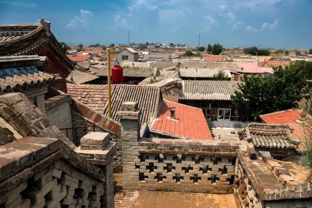 八百古堡独一秀 河北张家口市蔚县西古堡村