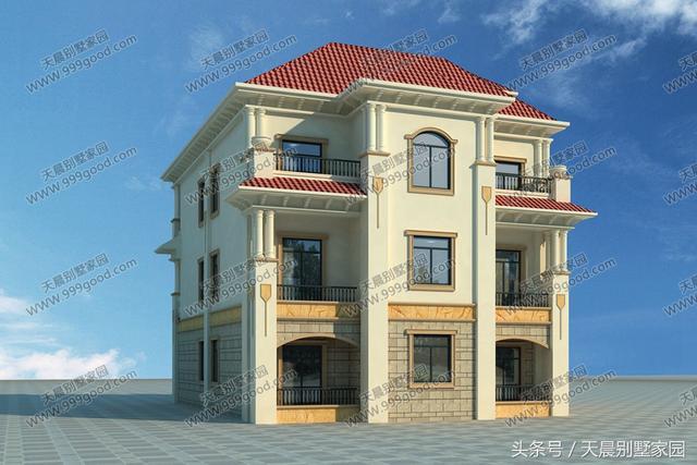 10X15.3米农村别墅设计图,带车库,实用