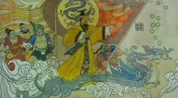 炎帝与黄帝的传�_历史 正文  中原地区蚩尤部落的百姓,炎帝部族的百姓和黄帝部族的百姓