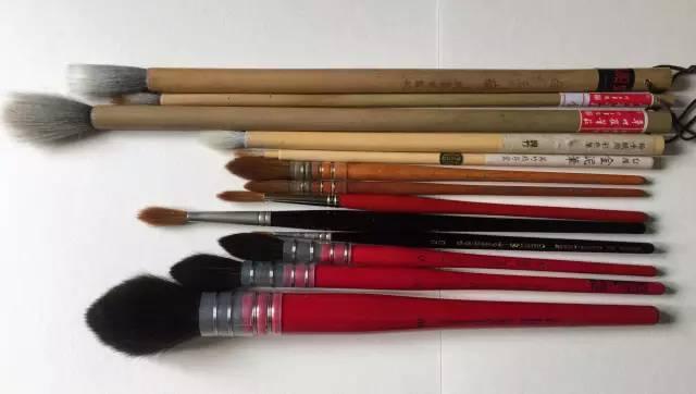 怎样挑选水彩画笔