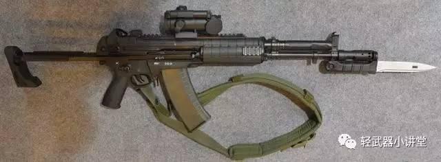 【枪】俄罗斯机械厂研制的a545/a762突击步枪
