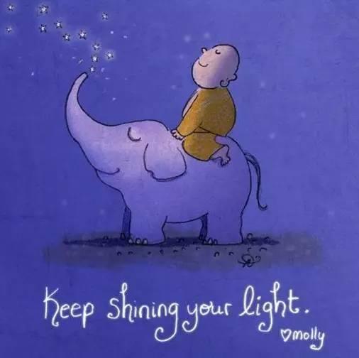 佛陀的涂鸦:闪耀你的光芒!图片