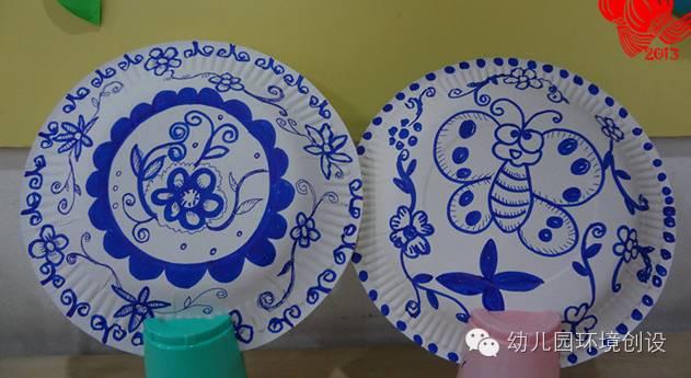 最美中国风 幼儿园青花瓷主题设计欣赏