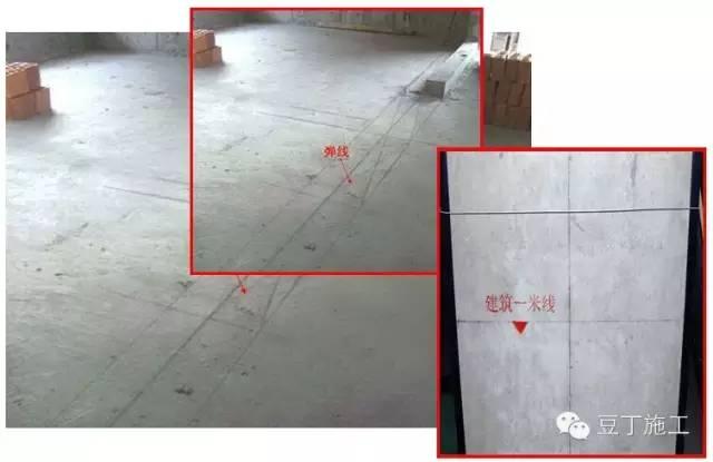 施工放线步骤_二次结构施工质量控制要点