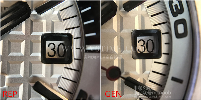 老K谈表第137期:男人的腕表:白面爱彼15710st真假对比评测!