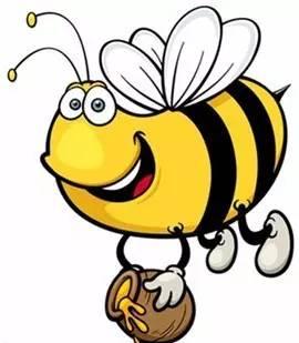 小朋友们,你知道小蜜蜂是如何酿造蜂蜜?如何采集花粉的么?图片