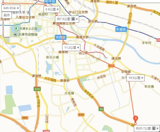 天津地铁8号线 Z1线建设启动 看看经过你家吗图片