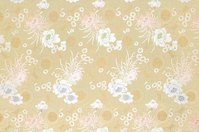 古代的丝织品基本按照织物组织,花纹,色彩等命名,分为很多类.