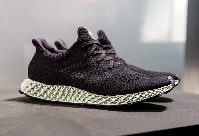 3d打印量产鞋——adidas futurecraft 4d