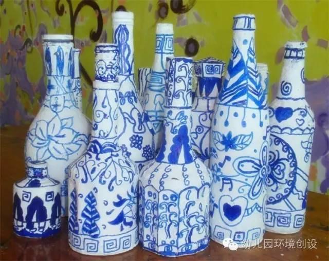 最美中国风—幼儿园青花瓷主题设计欣赏