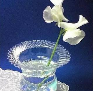 塑料瓶手工制作花瓶