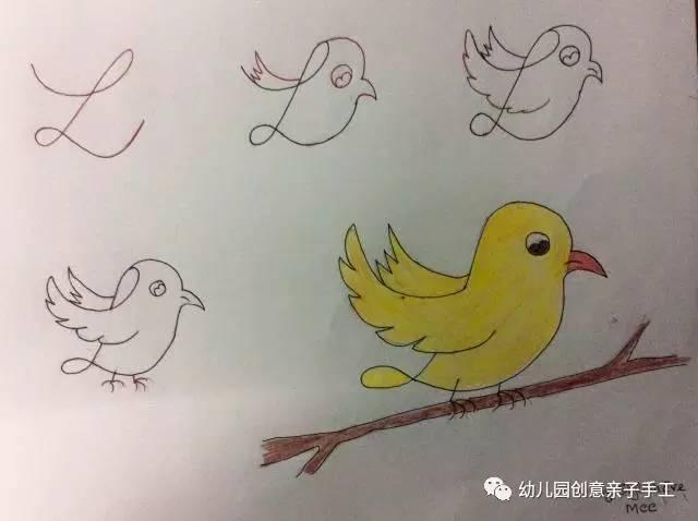儿童简笔画 字母 数字等,画出孩子喜欢的小动物