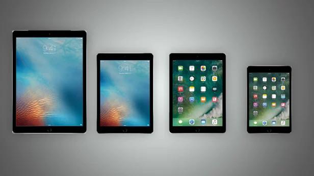 规格参数对比 苹果四台iPad之间的对决图片
