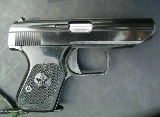 国产77式手枪:你敢开,我就敢走火!