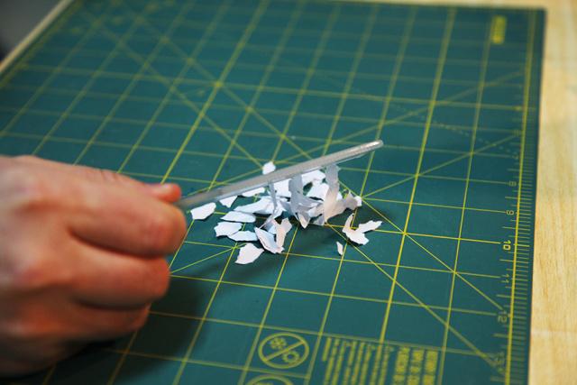 科技小制作纸车子