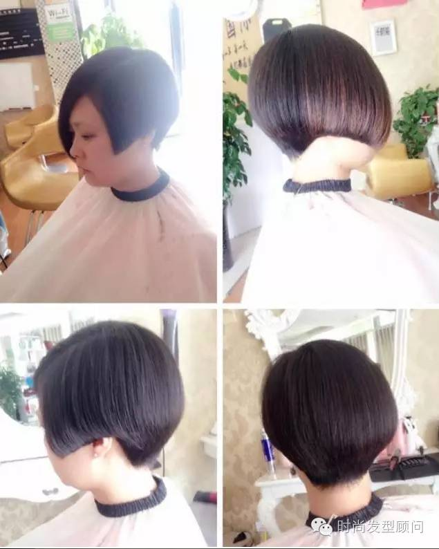 包包头的短发是大脸mm的福利哟!肉肉的包子脸女生适合什么样的发型呢?
