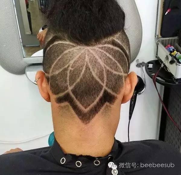 雕发被称作头发纹身,国外的潮人们都在玩这个