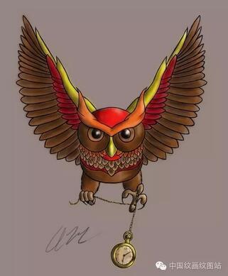 当所有人都入睡后,猫头鹰却作为所有生命的守护者,守护着这个城市中