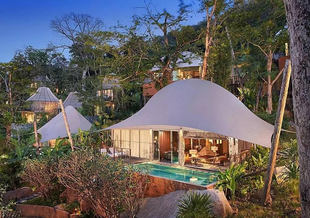 美屋计|普吉岛keemala森林创意度假酒店图片
