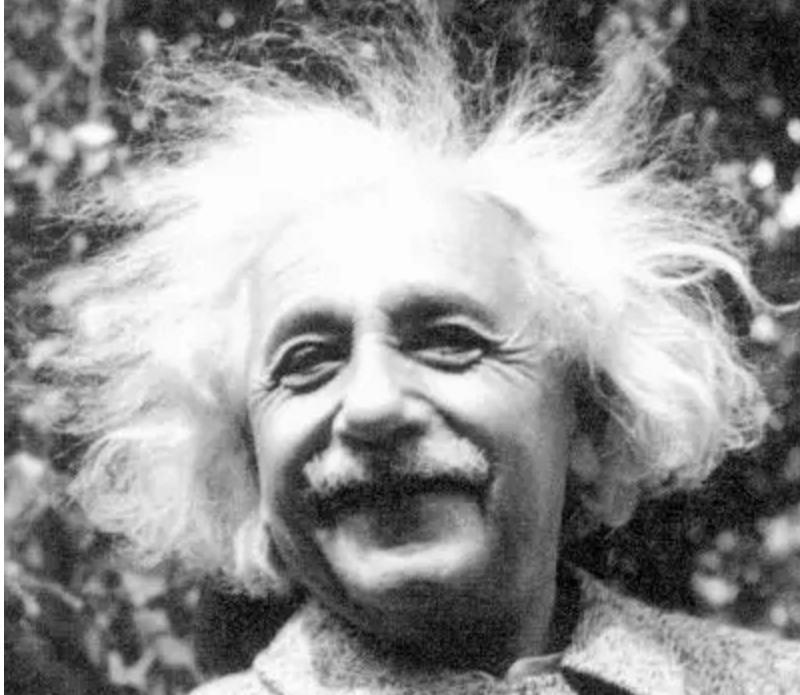 爱因斯坦头发