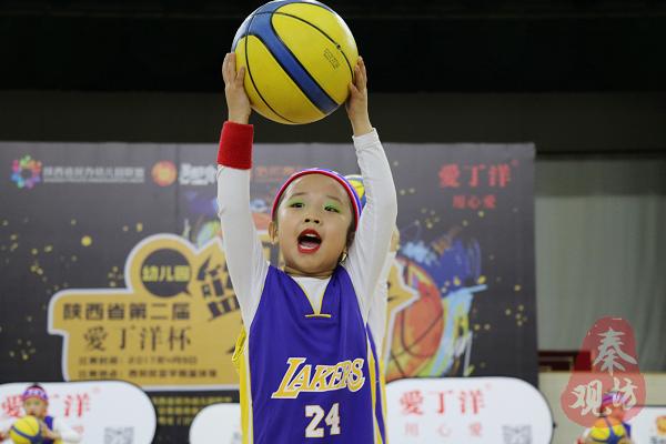 陕西省第二届幼儿篮球操大赛在西安召开