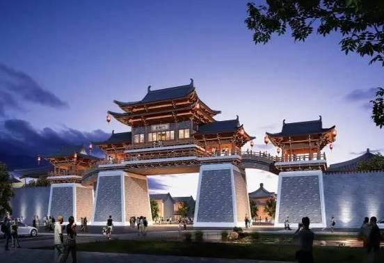 汉�z(�X[_占地1000多亩,打造汉代古城!