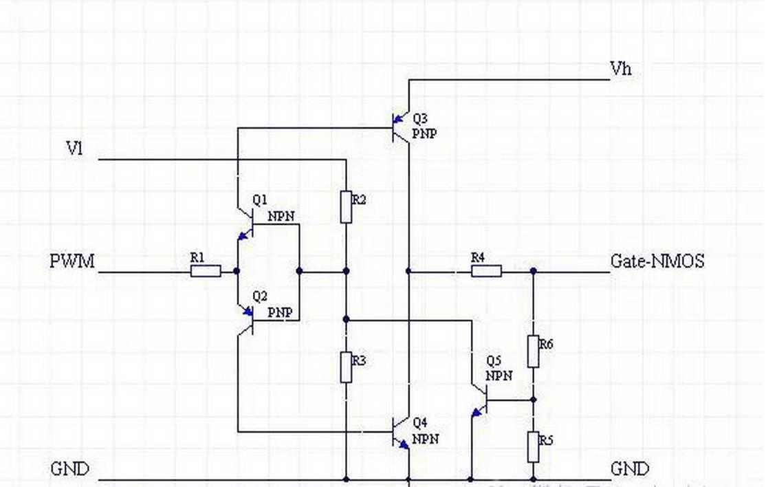 用于nmos的驱动电路