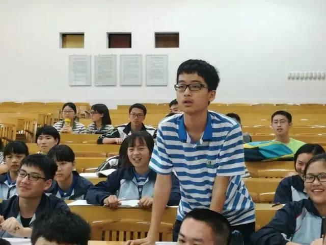 我校高一实验班同学到漳平二中开展学习交流会