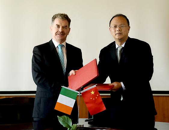爱尔兰阿斯隆理工学院代表团来访武汉科技大学
