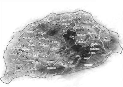 铭传故里景区规划图