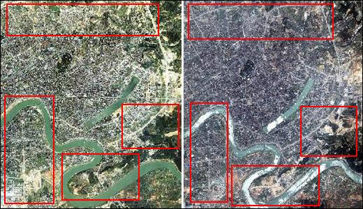 北京揽宇方圆:城市规划卫星地图影像数据应用