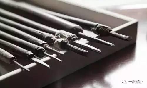 手工作品 橄榄核雕刻刀具介绍图片