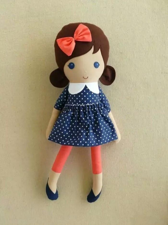 这些布娃娃可爱极了,简单好做,附缝娃娃针法大全