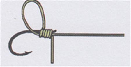 如何绑鱼钩 鱼线绑钩的方法图解,简单实用
