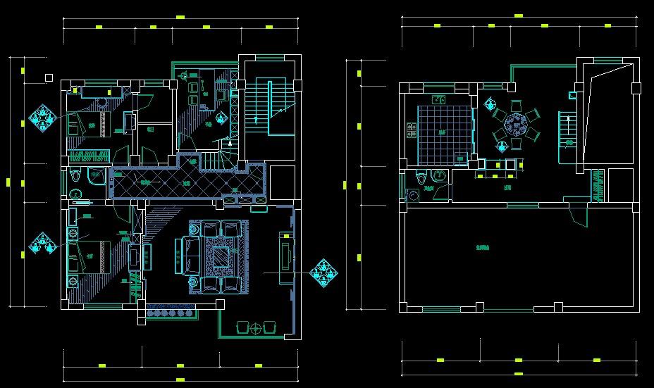 急求一套CAD家装图,三室两厅的 平面图 立面图 剖面图 效果图等都要