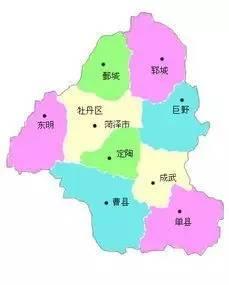山东菏泽有几个县市?图片