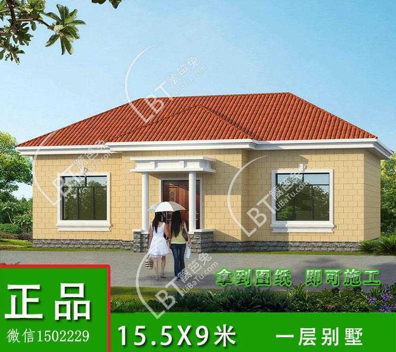一层别墅设计 农村一层房屋设计图 别墅外观效果图图片