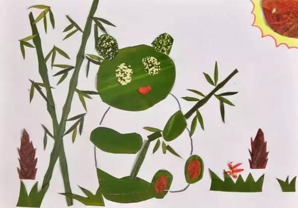 ,做一幅美丽的拼贴画吧!   手工素材:   蜡笔或彩色笔、彩纸若干、