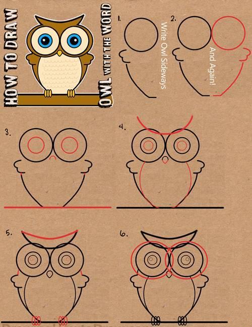 儿童简笔画:单词变身动物人物,实在太有趣!图片