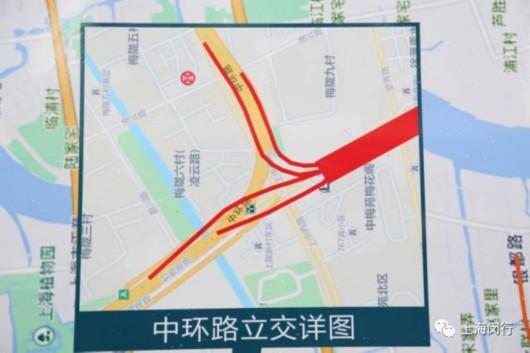 中环路立交建设规划图