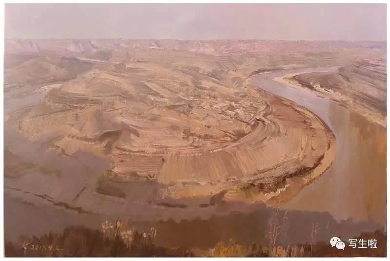 《天下黄河——黄河魂·中国梦百名中国油画名家大型写生暨主题创作