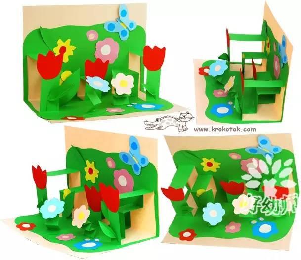 11个春季手工,带你和春天来一场美丽的约会!