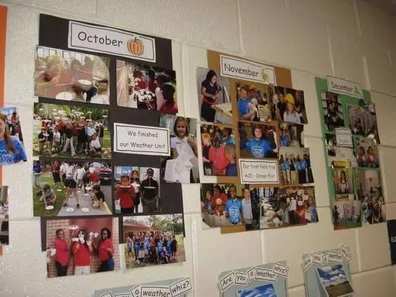 幼儿园环境创设之墙面照片墙装饰