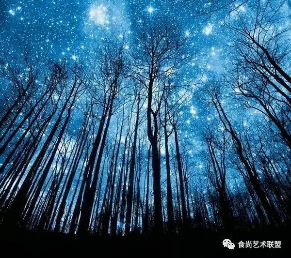 水彩画之璀璨星空