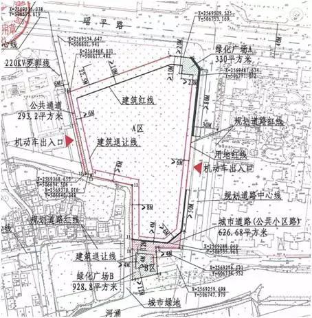 地块规划图